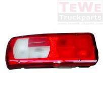 Rückleuchte mit Kennzeichenbeleuchtung ohne Leuchtmittel links / Taillamp with license plate light no bulbs LH