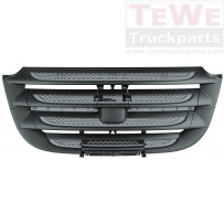 Frontgrill Gitter silber unten / Front grill grille silver lower