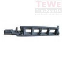 Frontgrill Aluminiumkonsole unten links / Front grill bracket aluminum lower LH