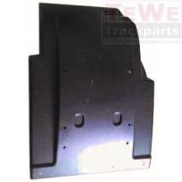 Kotflügel Vorderachse hinten ohne Seitenverkleidung links / Mudguard front axle rear no side paneling LH