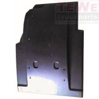 Kotflügel Vorderachse hinten ohne Seitenverkleidung rechts / Mudguard front axle rear no side paneling RH