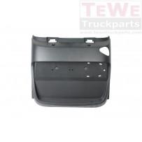 Kotflügel Hinterachse hinten inklusive Halterung für Konsole links / Mudguard rear axle rear including bracket LH