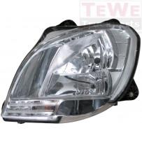 Hauptscheinwerfer ohne Leuchtmittel links / Headlight no bulbs LH
