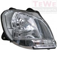 Hauptscheinwerfer ohne Leuchtmittel rechts / Headlight no bulbs RH