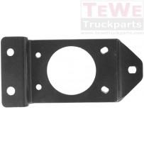 Konsole Schließzapfen Frontklappe / Front panel locking pin plate