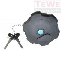 Tankverschluss sperrbar mit 2 Schlüsseln / Fuel filler cap lockable with 2 keys