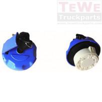 Tankverschluss Blue Diesel sperrbar mit 2 Schlüsseln / Fuel cap blue diesel lockable with 2 keys