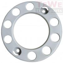 Radmutternschutz silber / Wheel nut protection silver
