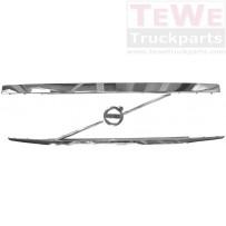 Frontgrill Chromzierleisteneinsatz ohne Volvo Emblem / Front grill chrome trim strip no Volvo emblem