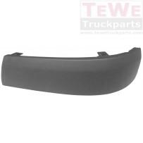 Stoßfängerecke ABS strukturiert links / Front bumper corner ABS structured LH