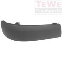 Stoßfängerecke ABS strukturiert rechts / Front bumper corner ABS structured RH