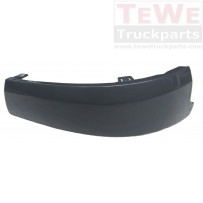 Stoßfängerecke ABS glatt links / Front bumper corner ABS smooth LH