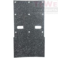 Antispraymatte für Kotflügel Hinterachse / Anti-spray mat for mudguard rear axle