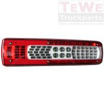 Rückleuchte LED mit Kennzeichenbeleuchtung links / Taillamp LED with license plate light LH
