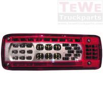 Rückleuchte LED mit Rückfahrwarner rechts / Taillamp LED with alarm RH