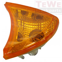 Blinkerleuchte gelb inklusive Sockel links / Turn signal lamp amber including socket LH