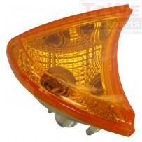 Blinkerleuchte gelb inklusive Sockel rechts / Turn signal lamp amber including socket RH