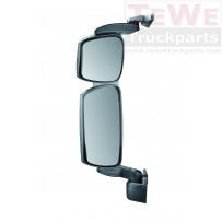 Rückspiegel komplett mit kurzem Arm elektrisch einstellbar und beheizt links / Main mirror complete with short arm electrally adjustable and heated LH