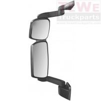 Rückspiegel komplett mit mittellangem Arm elektrisch einstellbar und beheizt links / Mirror complete with medium arm electrically adjustable and heated LH