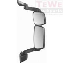 Rückspiegel komplett mit mittellangem Arm elektrisch einstellbar und beheizt rechts / Mirror complete with medium arm electrically adjustable and heated RH