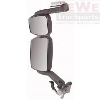 Rückspiegel komplett mit langem Arm elektrisch einstellbar und beheizt links / Mirror complete with long arm electrically adjustable and heated LH