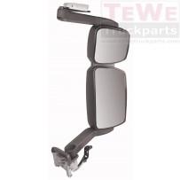 Rückspiegel komplett mit langem Arm elektrisch einstellbar und beheizt rechts / Mirror complete with long arm electrically adjustable and heated RH