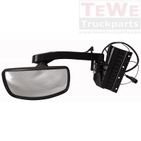 Frontspiegel mit Arm beheizt / Front view mirror with arm heated