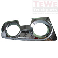 Abdeckung Nebelscheinwerfer Chrom links / Fog lamp cover chrome LH