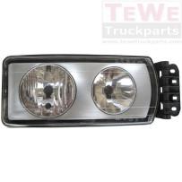 Hauptscheinwerfer manuell einstellbar rechts / Headlight manually adjustable RH