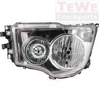 Hauptscheinwerfer Halogen manuell einstellbar ohne Tagfahrlicht links / Headlight halogen manually adjustable no daytime running light LH