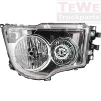Hauptscheinwerfer Halogen manuell einstellbar ohne Tagfahrlicht rechts / Headlight halogen manually adjustable no daytime running light RH