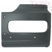 Stoßfängerecke 400 mm schwarz links / Front bumper corner 400 mm black LH