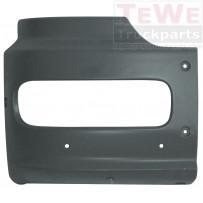 Stoßfängerecke 400 mm schwarz rechts / Front bumper corner 400 mm black RH