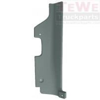 Abdeckung Stoßfängerhälfte hinten links / Front bumper joint cover rear LH