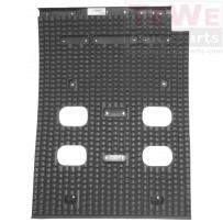 Antispraymatte für Kotflügel Vorderachse rechts/ Anti-spray mat for mudguard front axle RH