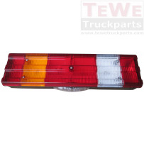 Rückleuchte mit Kennzeichenbeleuchtung inklusive Leuchtmittel links / Rear lamp with license plate light including light bulbs LH