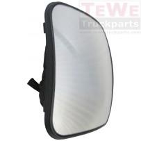 Ersatzglas Weitwinkelspiegel beheizt / Wide angle mirror replacement glass heated
