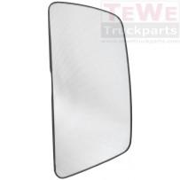 Ersatzglas Hauptspiegel beheizt rechts / Main mirror replacement glass heated RH