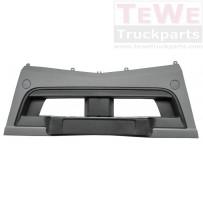 Stoßfänger niedrig grau Mitte / Front bumper low grey center