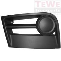 Spoilerabdeckung ohne Nebelscheinwerferausschnitt links / Front spoiler cover no fog lamp cutout LH