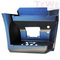 Einstieg ohne Ausschnitt Trittstufenleuchte grundiert unten rechts / Footstep no cutout step lamp primed lower RH