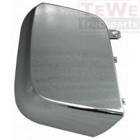 Abdeckung Weitwinkelspiegel flach Chrom rechts / Wide angle mirror cover flat chrom RH