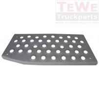 Stufenplatte Einstieg unten links / Step plate footstep lower LH