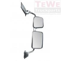 Rückspiegel komplett elektrisch einstellbar und beheizt silber rechts / Mirror complete electrically adjustable and heated silver RH