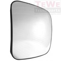 Ersatzglas Weitwinkelspiegel beheizt links / Wide angle mirror replacement glass heated LH