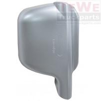 Abdeckung Weitwinkelspiegel silber rechts / Wide angle mirror cover silver RH