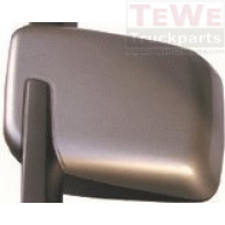 Abdeckung Weitwinkelspiegel grau links / Wide angle mirror cover grey LH