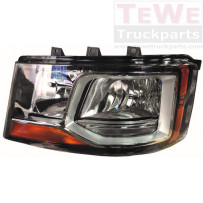 Hauptscheinwerfer manuell einstellbar mit Tagfahrlicht links / Headlight manually adjustable with daytime lamp LH