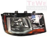 Hauptscheinwerfer manuell einstellbar mit Tagfahrlicht rechts / Headlight manually adjustable with daytime lamp RH