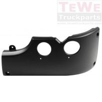 Stoßfängerecke 350 mm links / Front bumper corner 350 mm LH